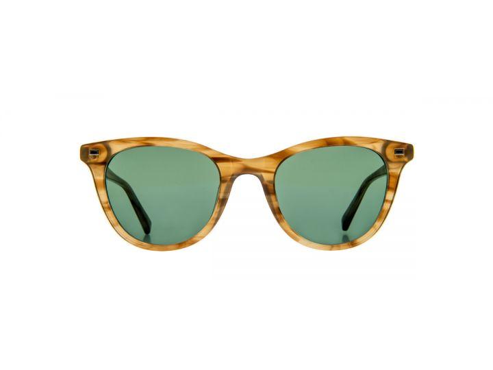 Madeleine Chestnut Crystal / Brightsun Green