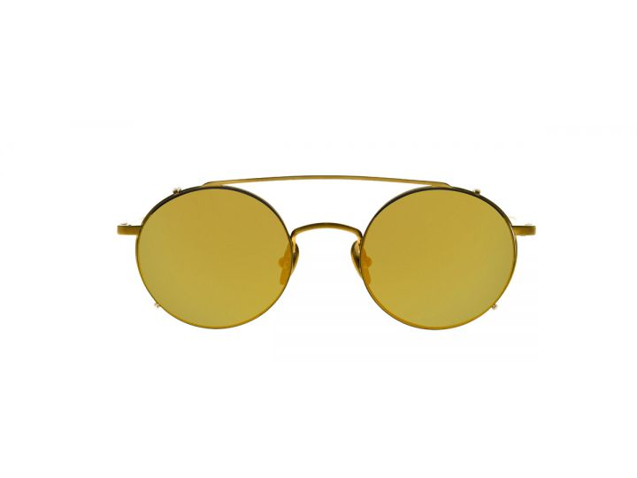 Willy Gold / Clip-on Gold Mirror